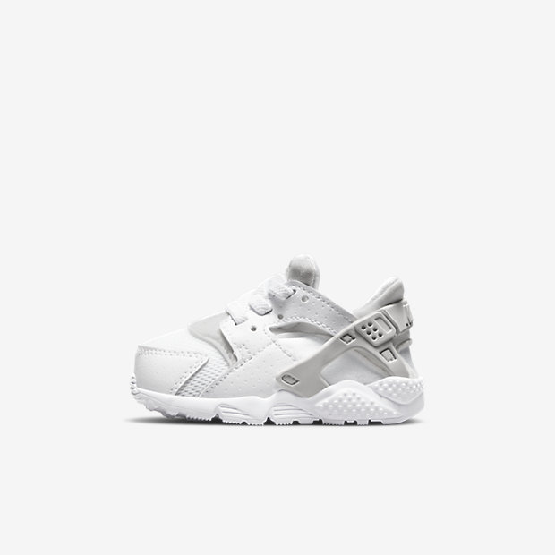 Black And White Nike Infant Shoes