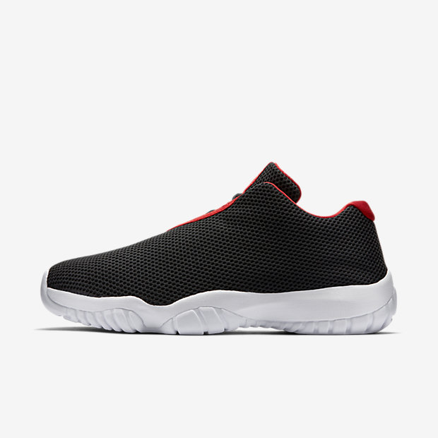 Chaussures Nike Air Jordan Future Low rouges homme