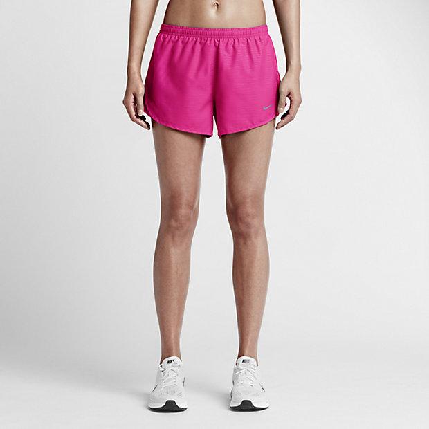 "Low Resolution Nike 3"" Tempo Embossed 女子跑步短裤"