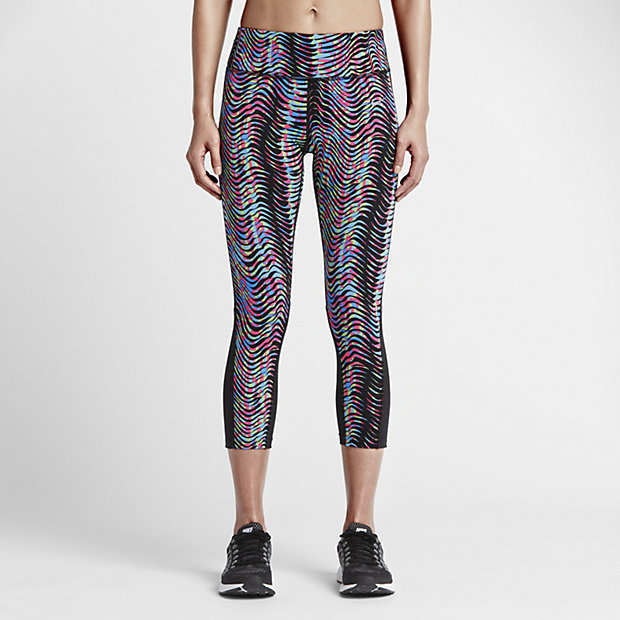 ... Nike Power Epic Lux Women's Printed Running Crops