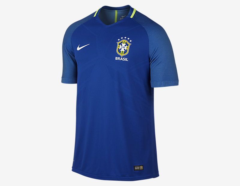 2016 Brazil CBF Vapor Match Away