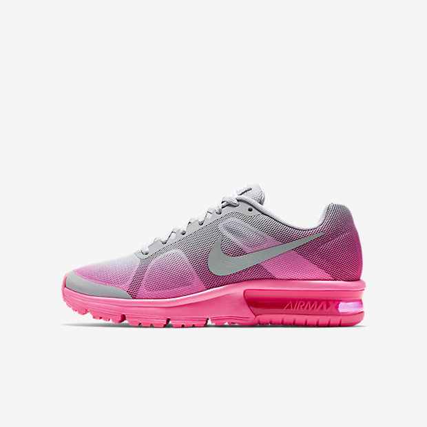 Low Resolution Nike Air Max Sequent-løpesko for store barn (35,5–40)