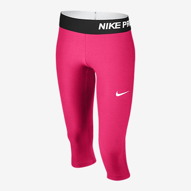 Low Resolution Nike Pro Cool 女孩训练紧身七分童裤