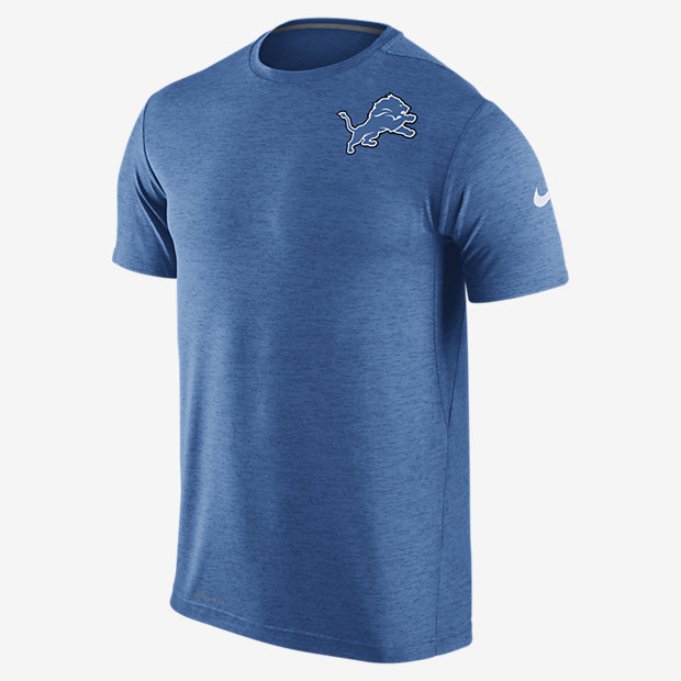 Low Resolution Nike Dri-FIT Touch (NFL Lions) Men's Training T-Shirt