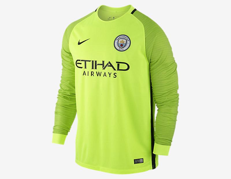2016/17 Manchester City FC Stadium Goalkeeper