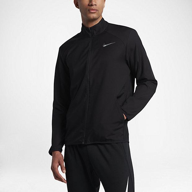 Nike Dry Men's Team Training Jackets Dark Grey/Black