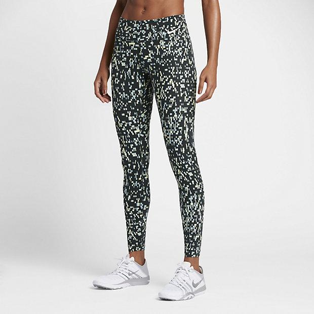 Low Resolution Nike Power Legendary 女子印花中腰训练紧身裤
