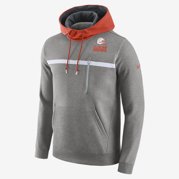 Nike Championship Drive Sweatshirt (NFL Browns) Men s Hoodie. Nike ... 52966cd8b