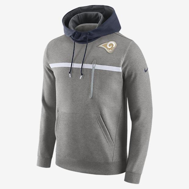 on sale 8495c 9ec32 ... Sweat à capuche Nike Championship Drive Pullover (NFL Rams) pour Homme
