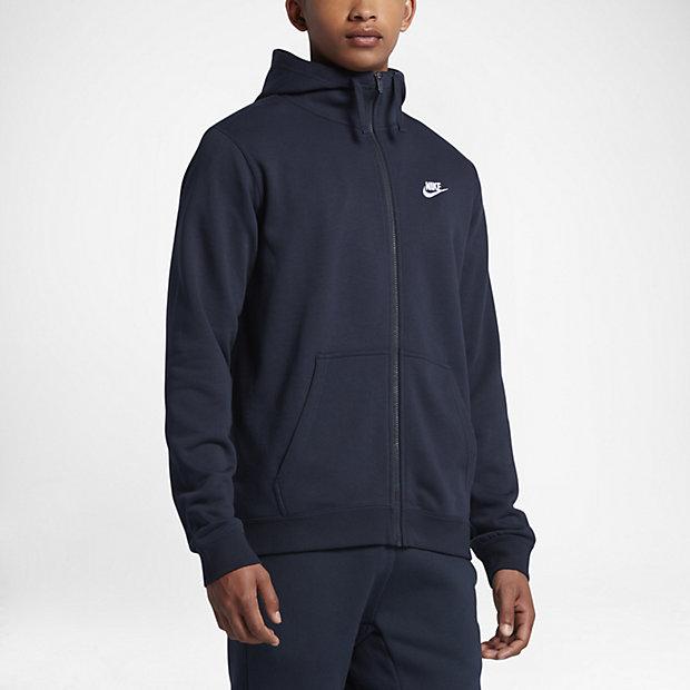 Low Resolution Nike Sportswear Herren-Hoodie mit durchgehendem Reißverschluss