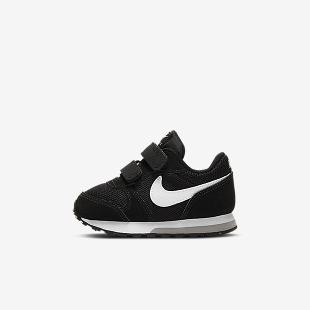 Кроссовки для малышей Nike MD Runner 2, Черный/Темно-серый/Белый, 11895237, 10349381  - купить со скидкой