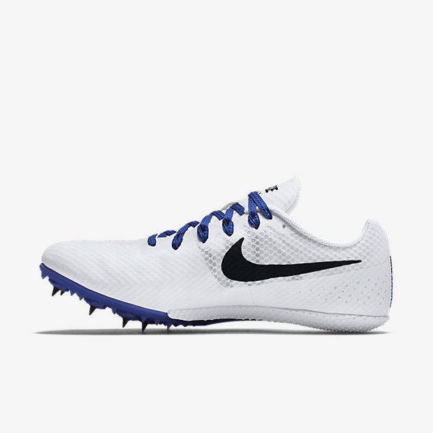 Mens Nike Zoom Rival S 8 Racer Blue/Black/White Track Spike
