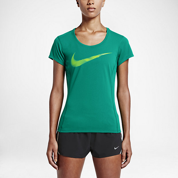 Low Resolution Nike Dry Contour 女子跑步上衣