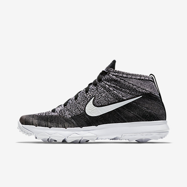 Men's Golf Shoe. Nike Flyknit Chukka