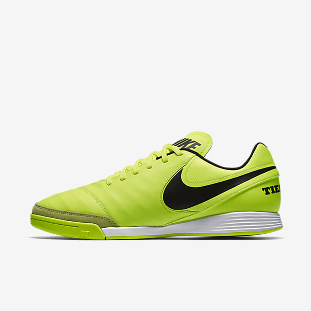 Tiempo Genio II Leather IC, Mens Football Training Nike