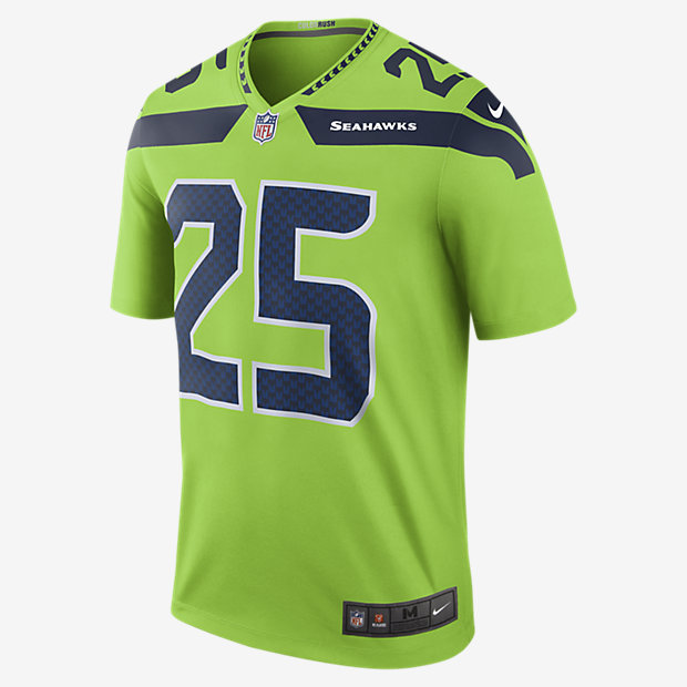 newest 27176 309b7 cheap nike seattle seahawks 25 richard sherman green ...