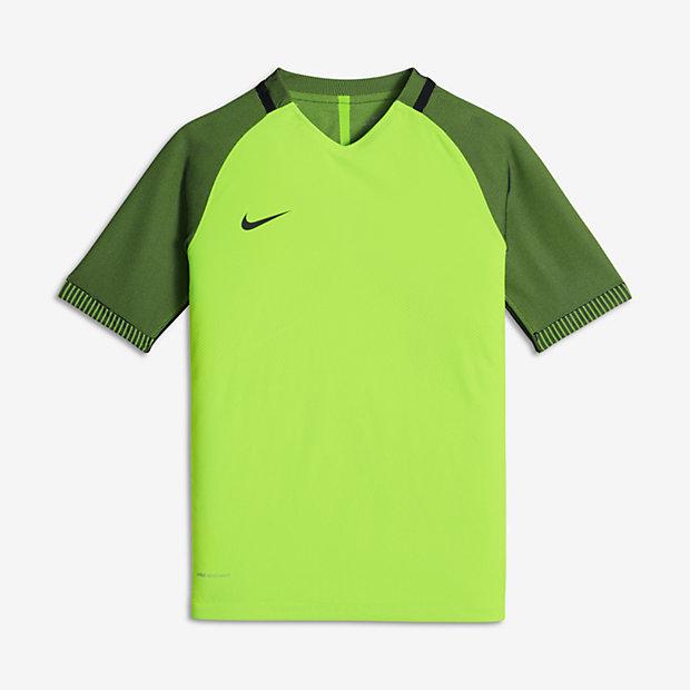 Low Resolution Dziecięca koszulka piłkarska z krótkim rękawem Nike Strike Aeroswift