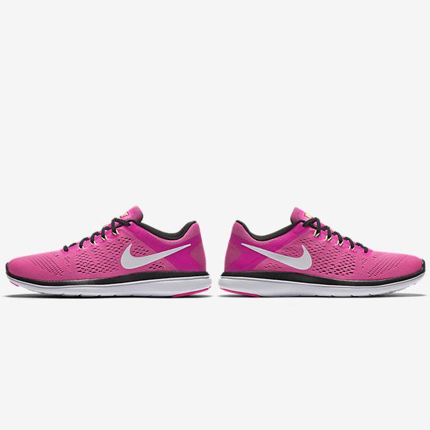 Nike - Flex 2016 Rn Baskets Jr - Filles - Chaussures - Rouge - 36,5