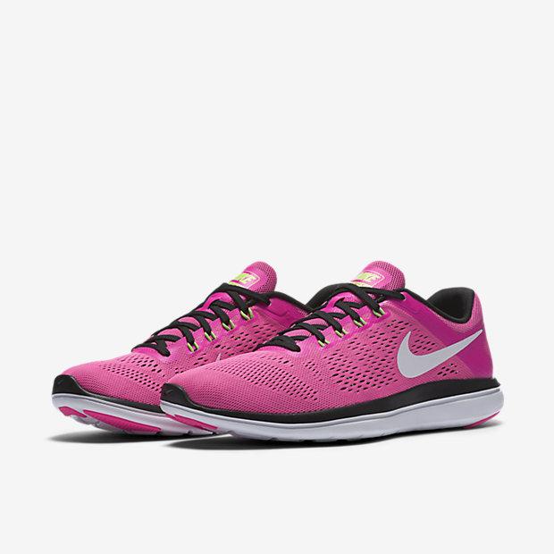 Nike Hommes Flex Chaussures De Course De 2016rn Femmes, Vert, Royaume-uni - Noir - 42,5 Eu