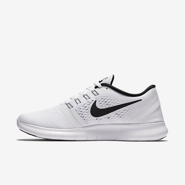 nike womens runners black and white photography