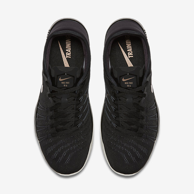Nike Free TR Focus BlackGold Women's Training Shoe