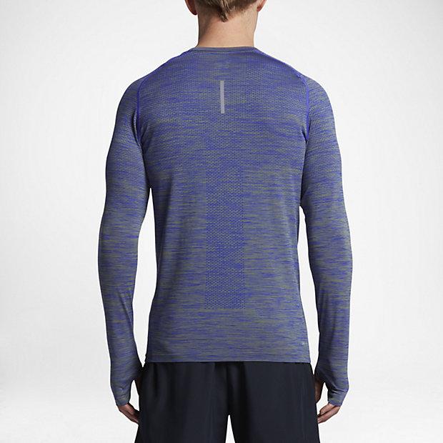7f04d660 Low Resolution Nike Dri-FIT Knit Men's Long-Sleeve Running ...