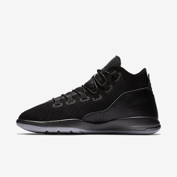 Nike Mens Shoes - Nike Jordan Reveal Premium Black/Black/Wolf Grey/Black I84e8274