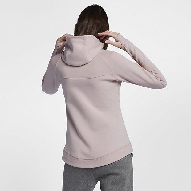 nike sportswear tech fleece windrunner damen hoodie mit. Black Bedroom Furniture Sets. Home Design Ideas