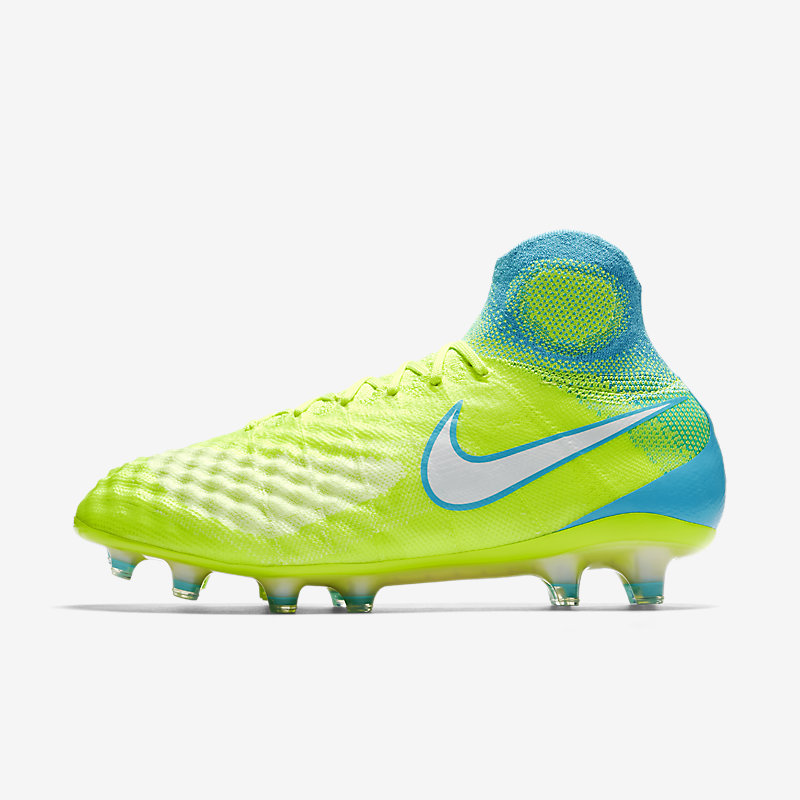 96b94844a Nike Magista Obra II Flyknit Motion Blur Pack FG Womens Football Boots  Yellow Image