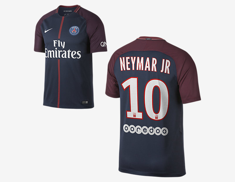 2017/18 Paris Saint-Germain Stadium Home (Neymar Jr.)