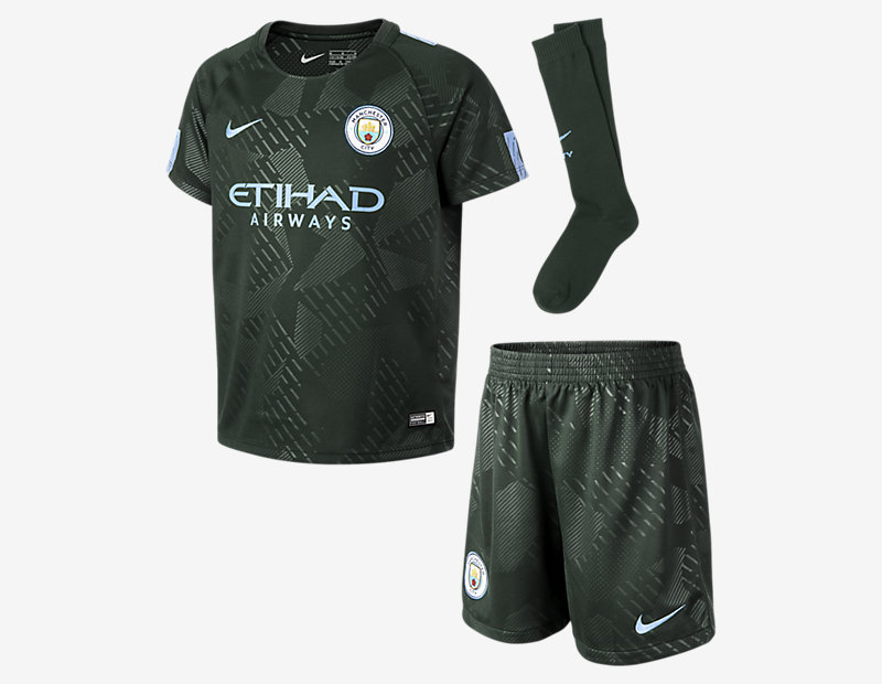 2017/18 Manchester City FC Stadium Third