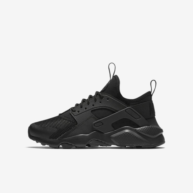Nike Com Huaraches For Kids Black Size