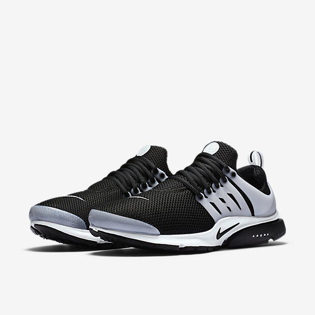 mens nike air presto grey white