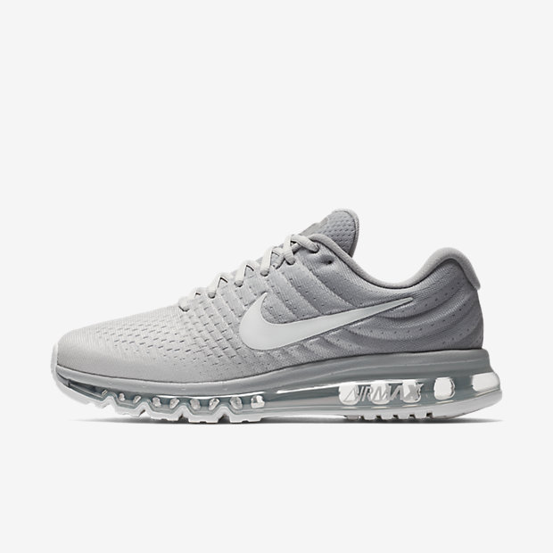 Nike Air Max 2017 Size 12 Mens Running Shoes Lifestyle SNEAKERS Cool Grey Black