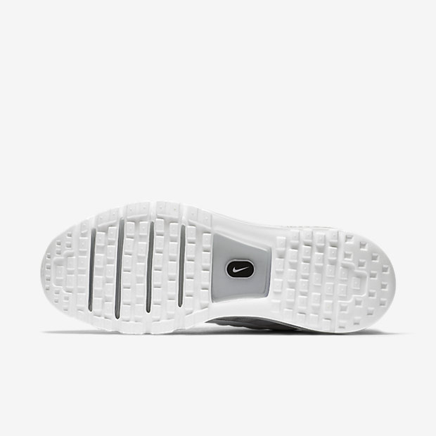 JR 2016 Latest Air Force 1 Flyknit Low All White Casual