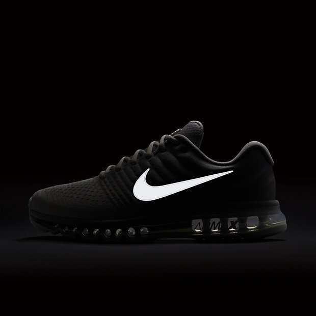 Nike 2017 Airmax Rubber Running Shoes Gray