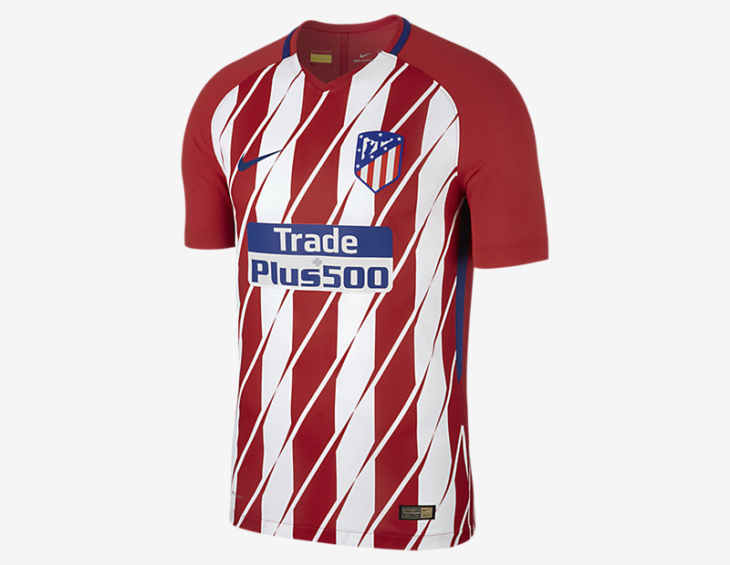 2017/18 Atletico de Madrid Vapor Match Home