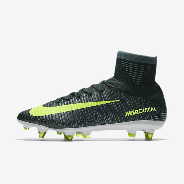 Nike Mercurial Superfly V Cr7 Dynamic Fit Sg Pro Fussballschuh Fur Weichen Rasen