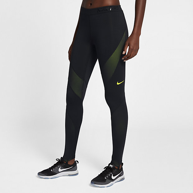 nike pro hyperwarm women 39 s training tights. Black Bedroom Furniture Sets. Home Design Ideas