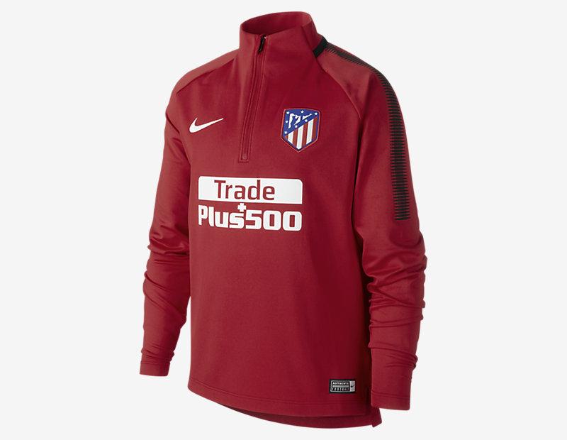 Atletico de Madrid Dry Squad Drill