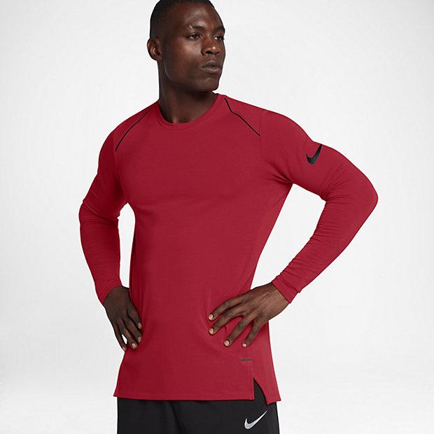 Nike Mens Training Shirt - Nike Dri-FIT University Red/Black R6i5395