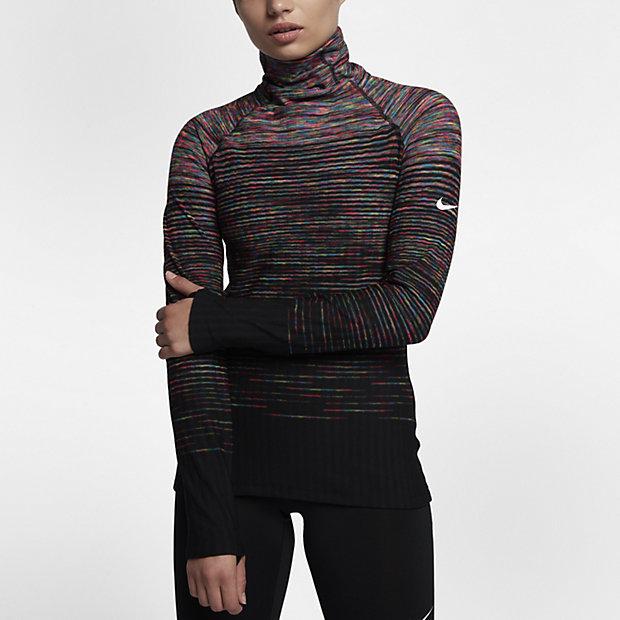nike pro hyperwarm women 39 s long sleeve training top. Black Bedroom Furniture Sets. Home Design Ideas