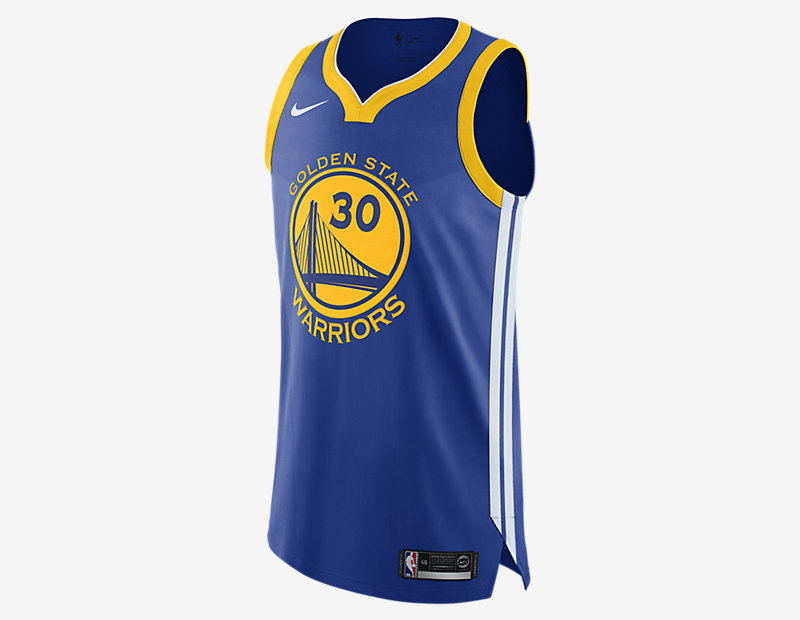 Stephen Curry Icon Edition Authentic Jersey (Golden State Warriors)