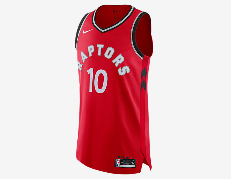 DeMar DeRozan Icon Edition Authentic Jersey (Toronto Raptors)