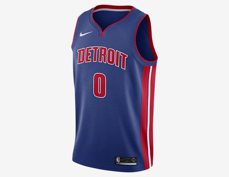 Andre Drummond Icon Edition Swingman Jersey (Detroit Pistons)