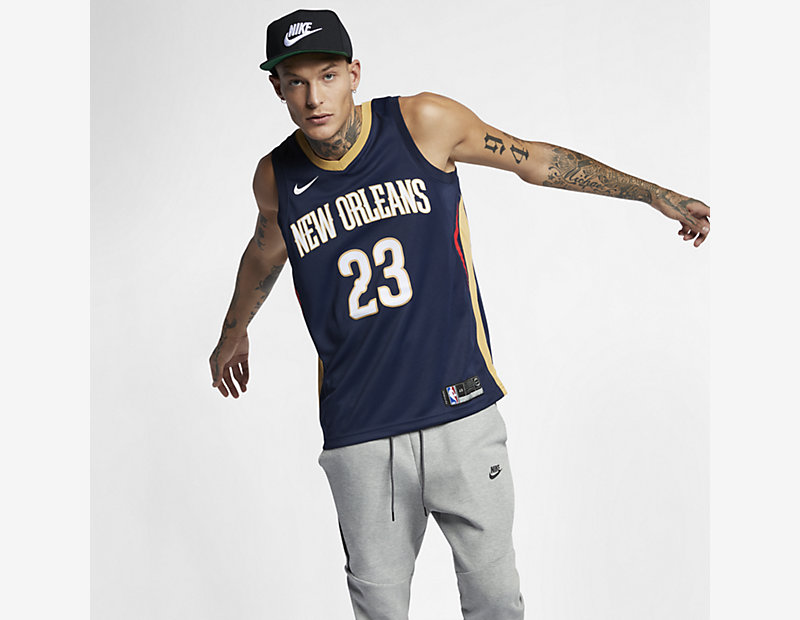 Anthony Davis Icon Edition Swingman Jersey (New Orleans Pelicans)