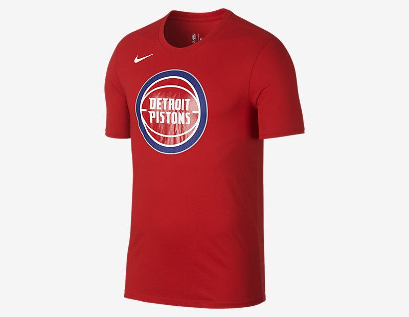 Detroit Pistons Nike Dry Logo