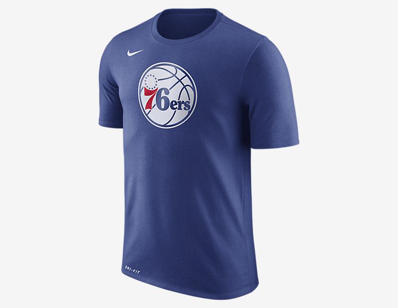 Philadelphia 76ers Nike Dry Logo