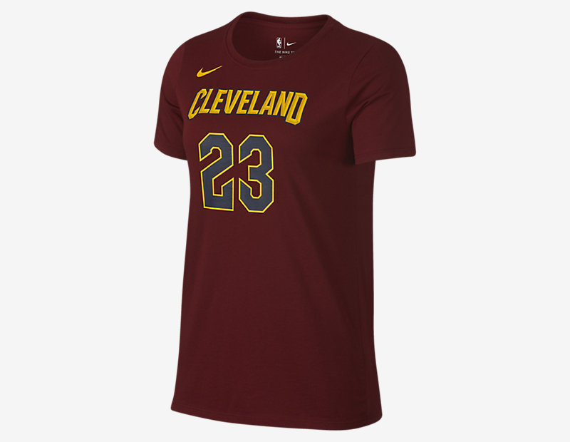 LeBron James Cleveland Cavaliers Nike Dry