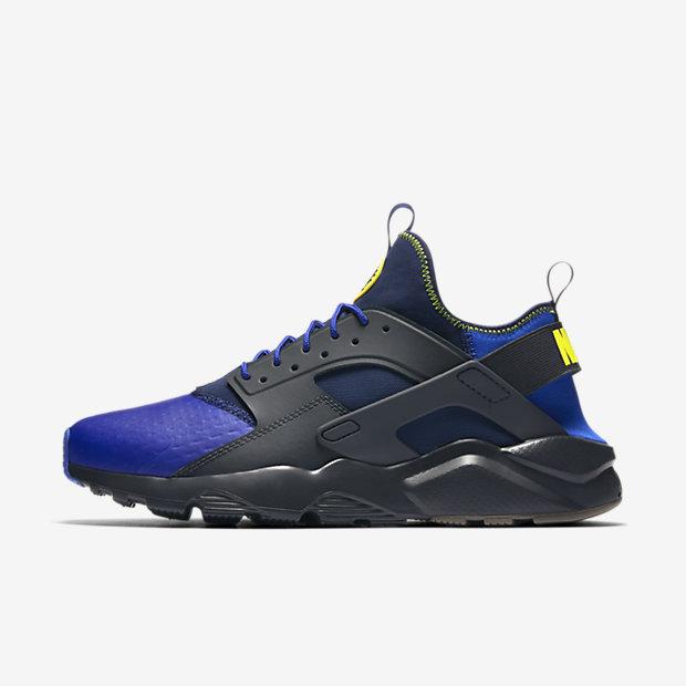 buy online 1634f 5165d mens nike air huarache all blue